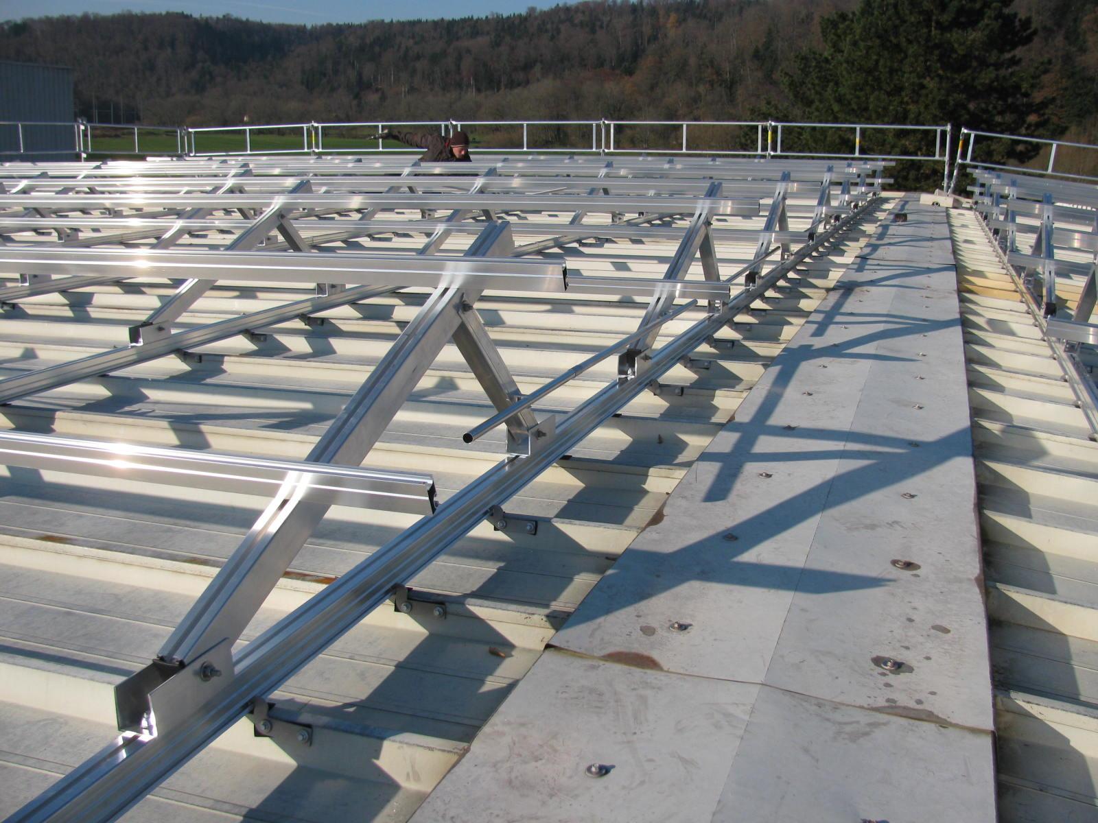Panneaux photovoltaïques en Suisse romande