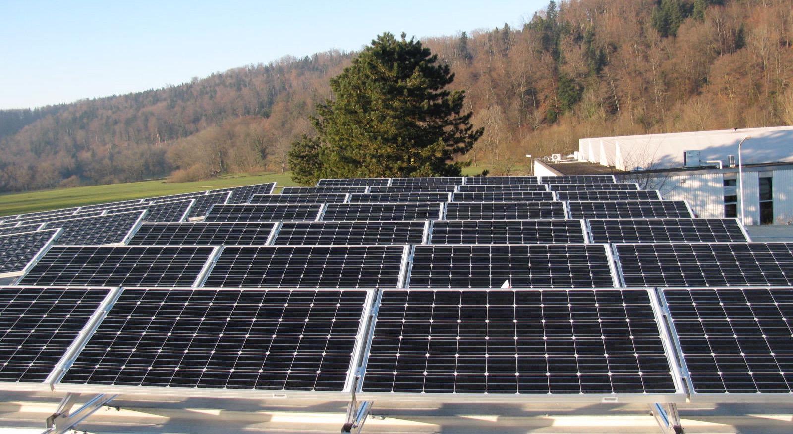 Cellules photovoltaïques en Suisse romande