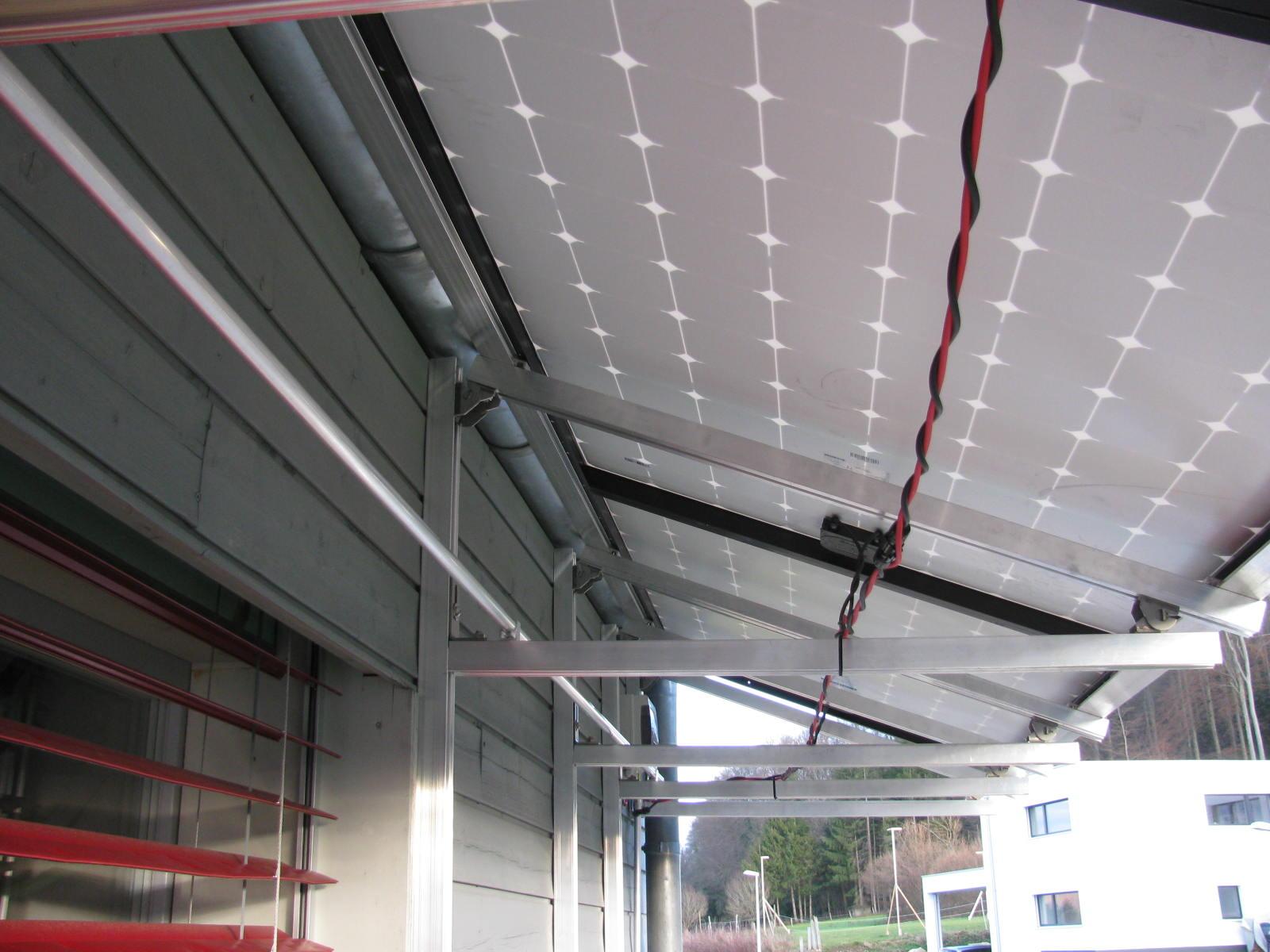 Pose d'installations solaires - Koutec Sàrl