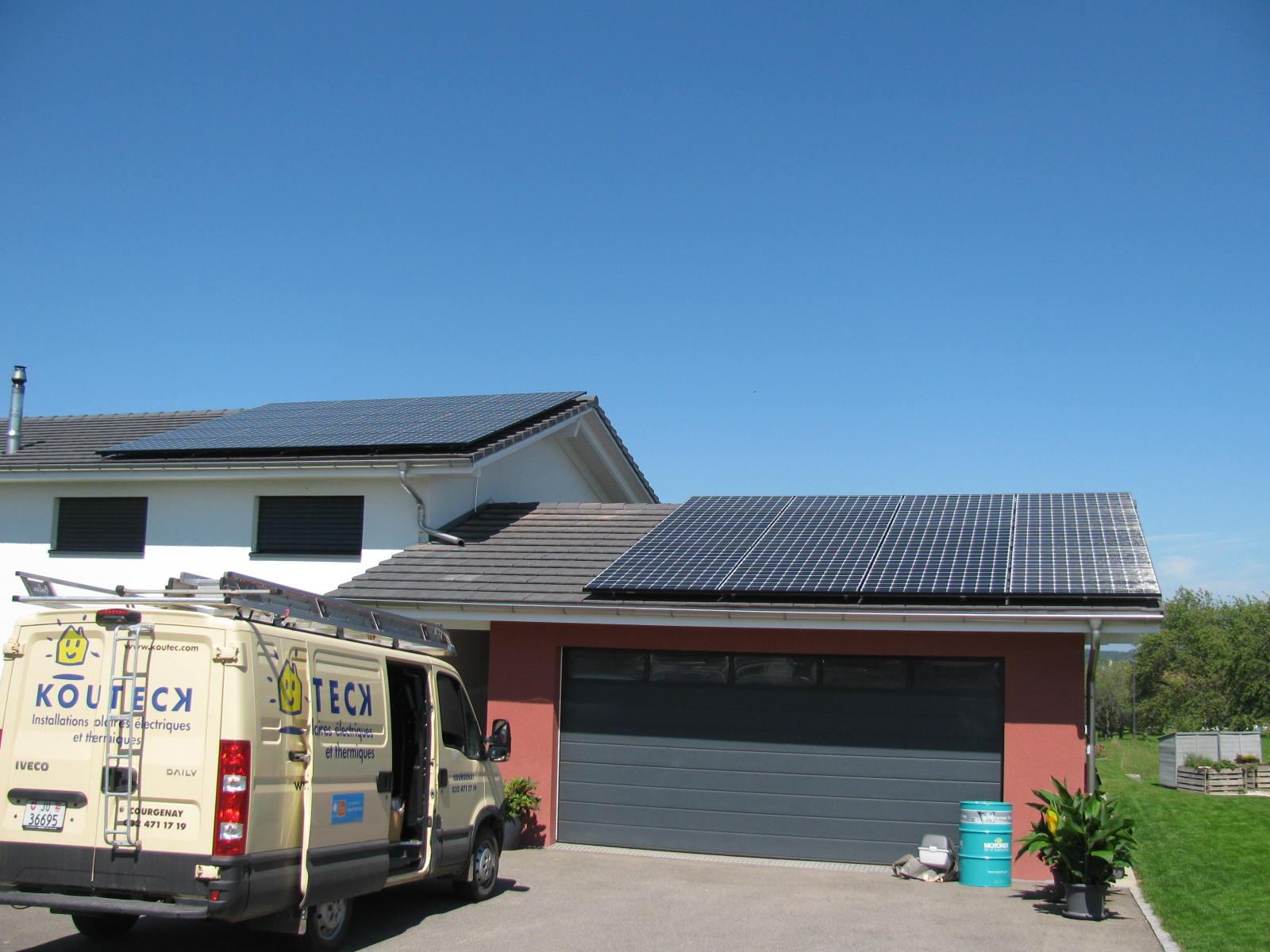 Panneaux photovoltaïques en Suisse - Koutec